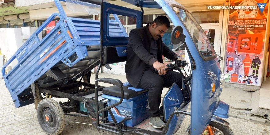 Yüksekovalı çiftçilerin elektrikli araç kullanımı arttı