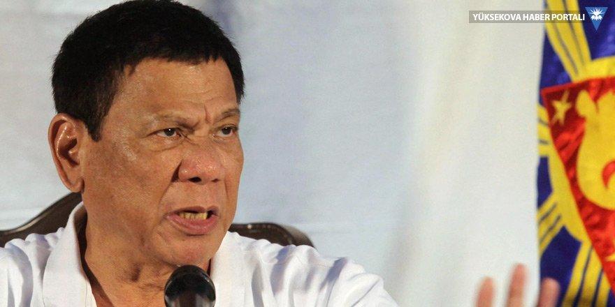 Duterte, küfrettiği Obama'dan özür diledi