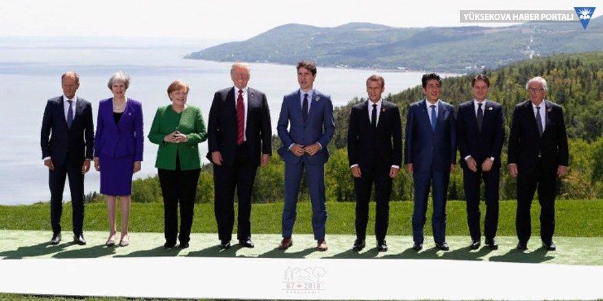 G7 Zirvesi Kanada'da başladı