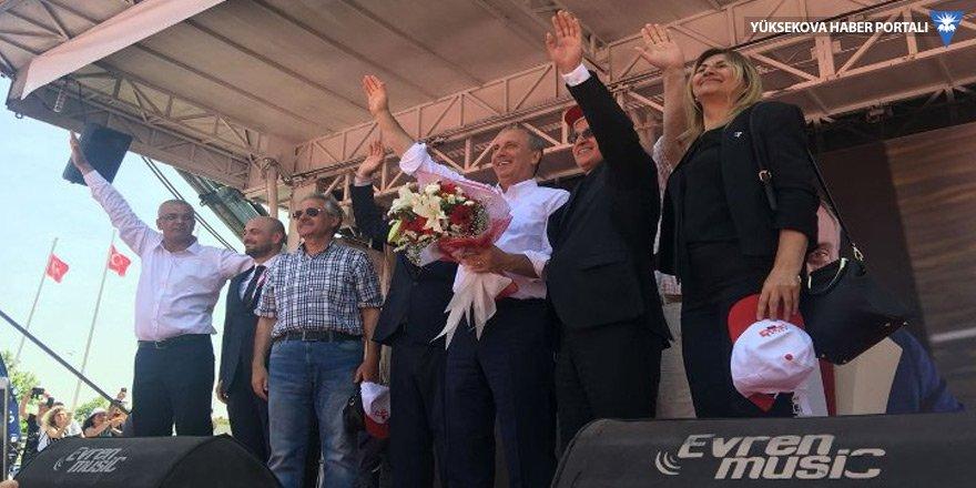 Sakarya'da sahneye Millet İttifakı çıktı