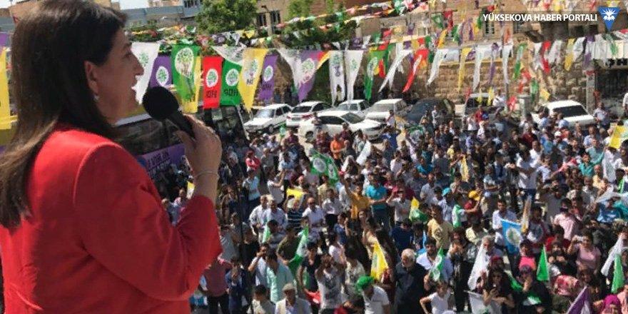 Buldan: AKP düştü düşecek!