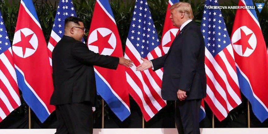 Trump: Kim ile birbirimize aşık olduk