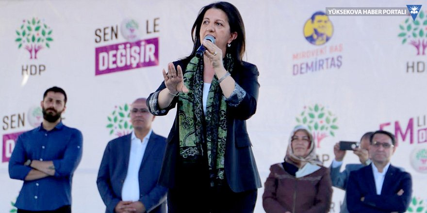Pervin Buldan: Demirtaş'ı idam etmek senin boyunu aşar