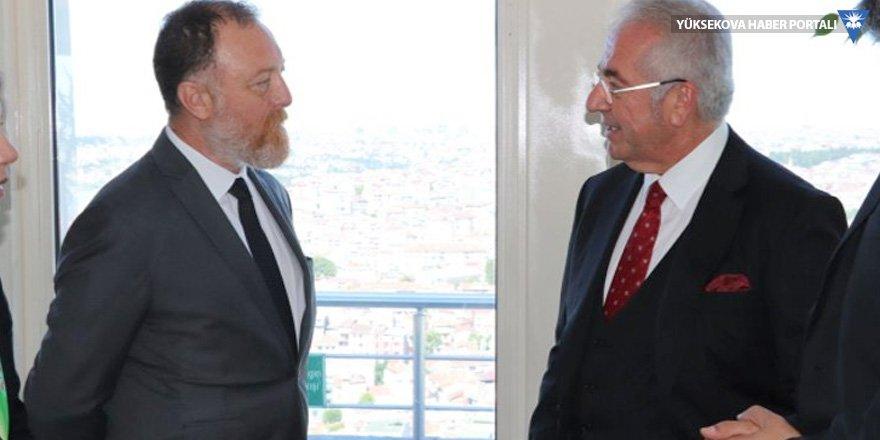 HDP Eşbaşkanı Temelli, TÜSİAD Başkanı Bilecik'le görüştü