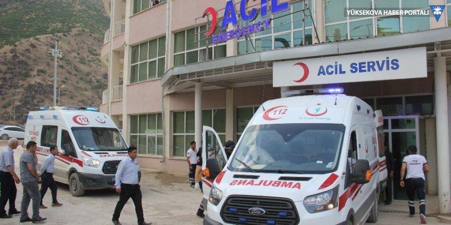 Şemdinli'de patlama: 1 kişi hayatını kaybetti