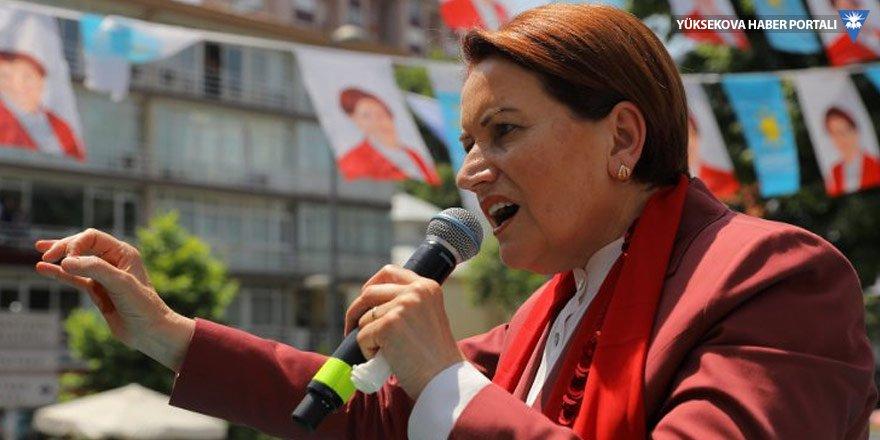 Akşener: Bir polis müdürü Meral Akşener'i HDP ile yan yana koyamaz