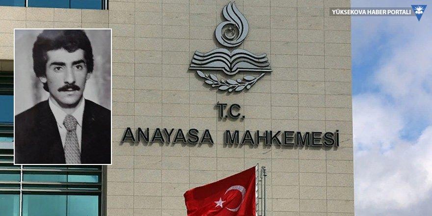 AYM'den Yüksekovalı Yılmaz için karar: Devlet kusurlu bulundu