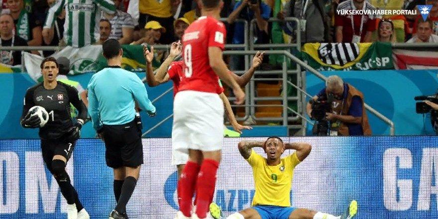 Brezilya, İsviçre'ye takıldı