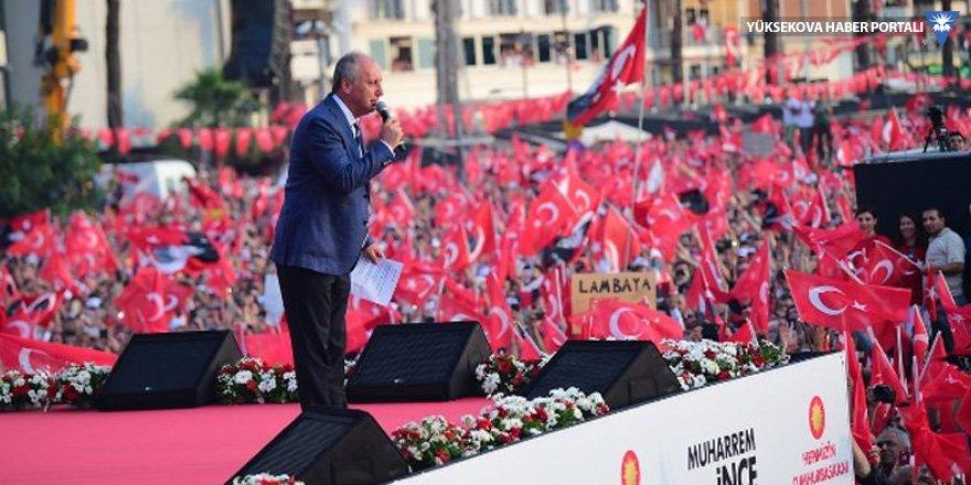 İnce'den Erdoğan'a: İstersen İstanbul mitingini iptal ederim
