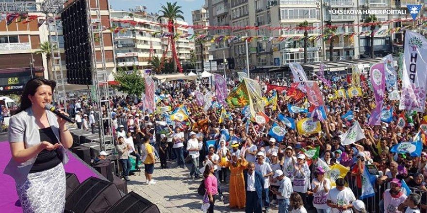 Buldan, Erdoğan'a Gündoğdu Meydanı'ndan yanıt verdi