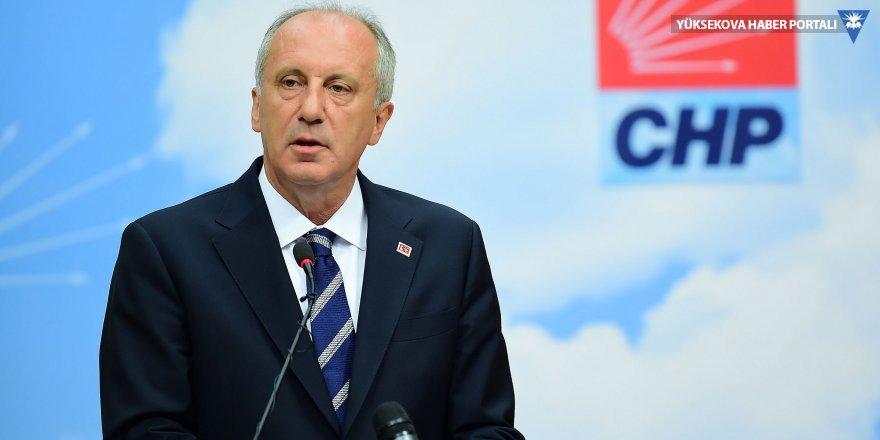 'CHP tabanı İnce'nin aday gösterilmesini istiyor'