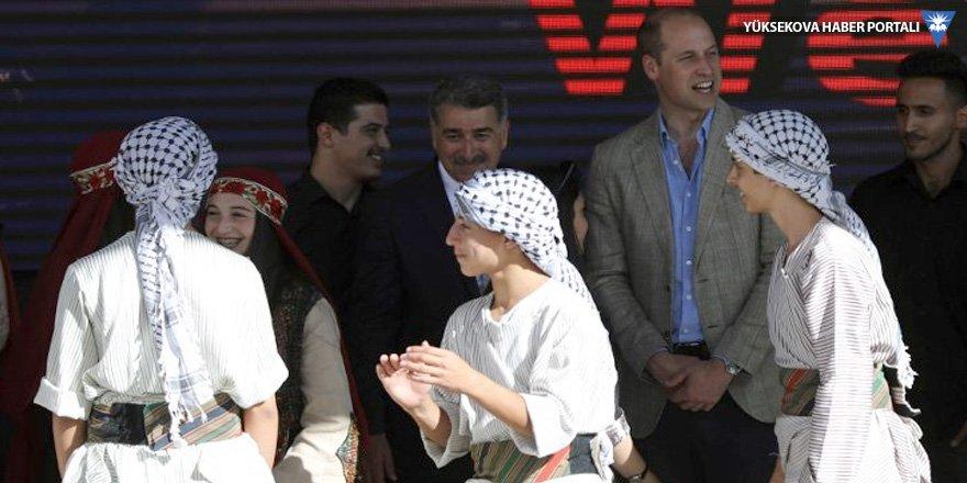 Batı Şeria'yı ziyaret eden ilk kraliyet üyesi