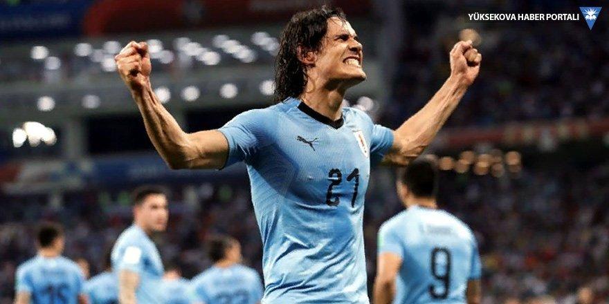 Fransa'nın çeyrek finalde rakibi Uruguay