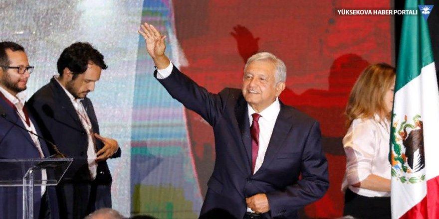 Meksika'da seçimi solcu aday Obrador kazandı