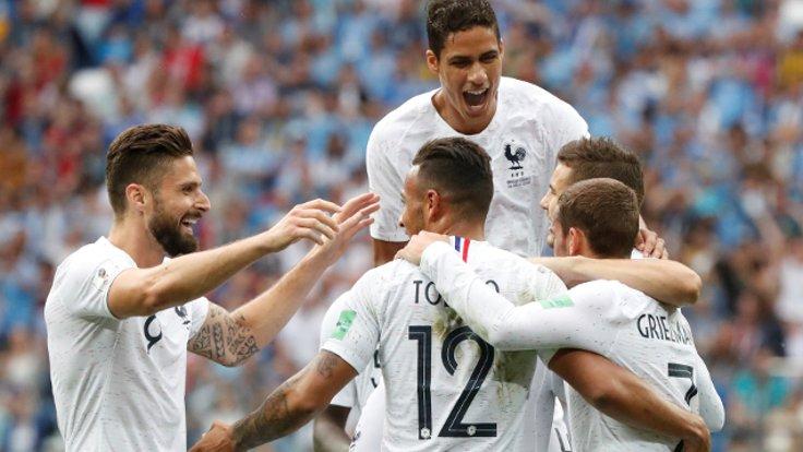 Dünya Kupası: Fransa yarı finalde