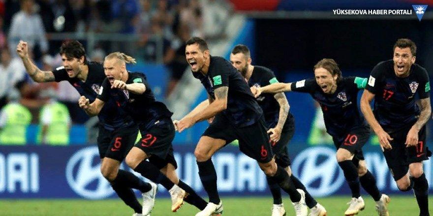 Dünya Kupası: Son yarı finalist Hırvatistan