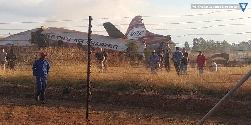 Güney Afrika'da uçak kazası: 20 yaralı