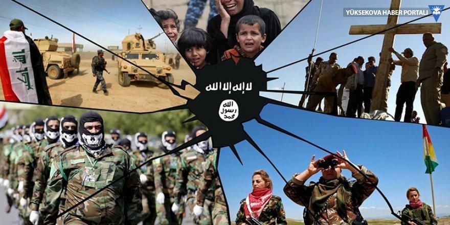 IŞİD'liler Suriye'den Irak'a kaçıyor