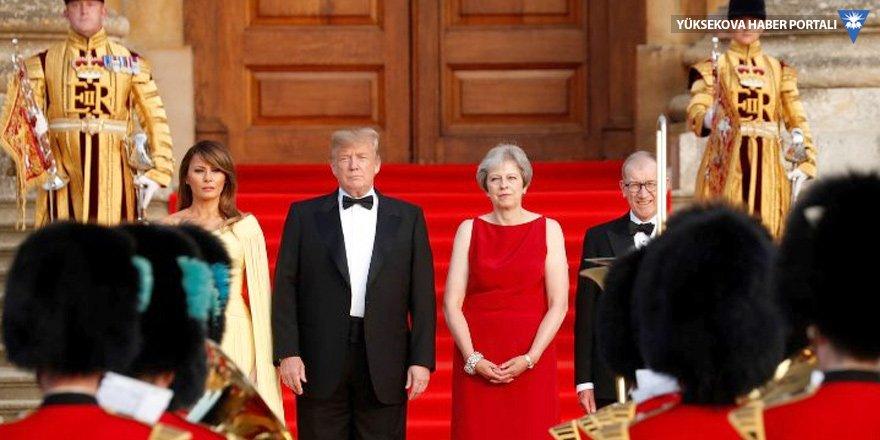 Trump İngiltere'nin altını üstüne getirdi!