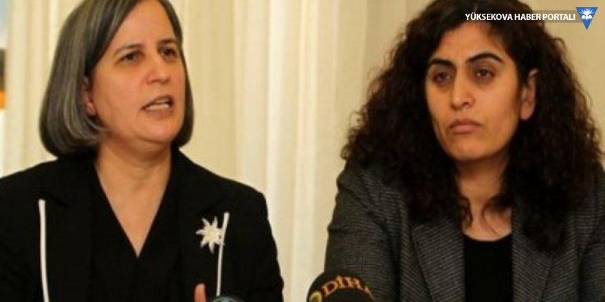 Gültan Kışanak ve Sebahat Tuncel için hapis cezası talebi