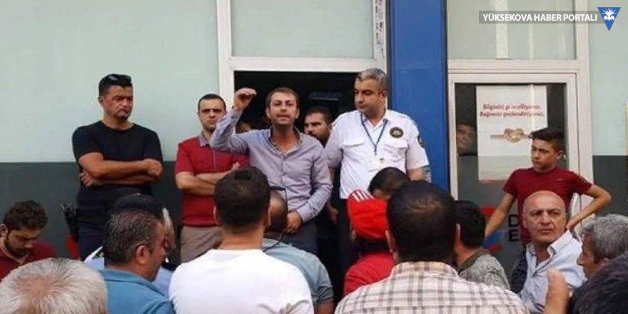 19 gündür elektrikleri kesik olan Cizreliler DEDAŞ'ı protesto etti