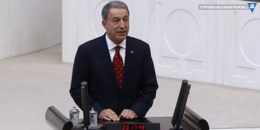 Milli Savunma Bakanı Akar: İnşallah TSK'da 'FETÖ'nün sonunu getireceğiz