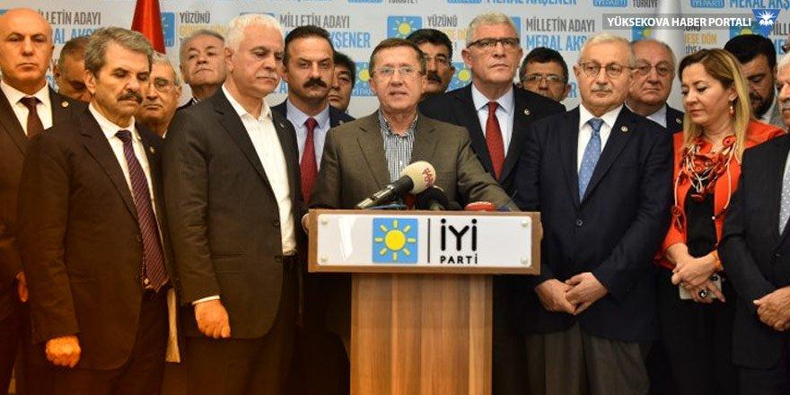 İYİ Parti Başkanlık Divanı'ndan Akşener'e : Sizden başka adayımız yok!