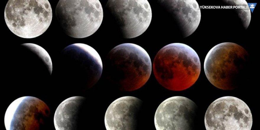 6 saat sürecek kanlı Ay tutulması bugün