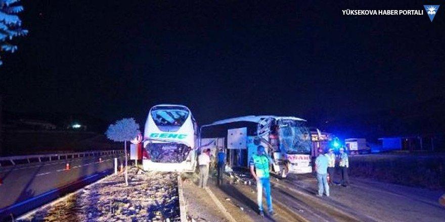 Çorum'da kaza: 13 yaralı
