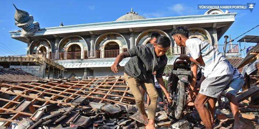 Endonezya'daki depremde ölü sayısı 91'e yükseldi