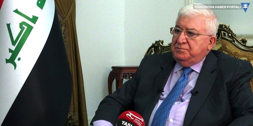 Fuad Masum: Kürtler yazılı anlaşma yapsın