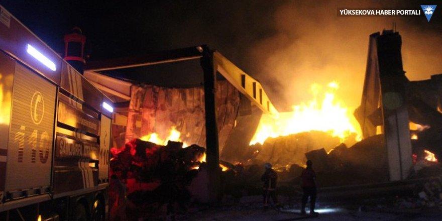 Türkiye'de 6 ayda 119 fabrika yandı