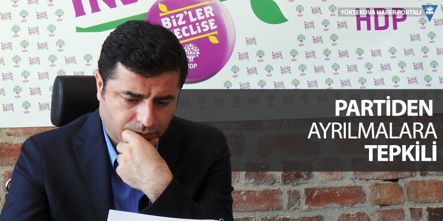 Demirtaş, HDP'ye eleştirileriyle ne mesaj verdi?