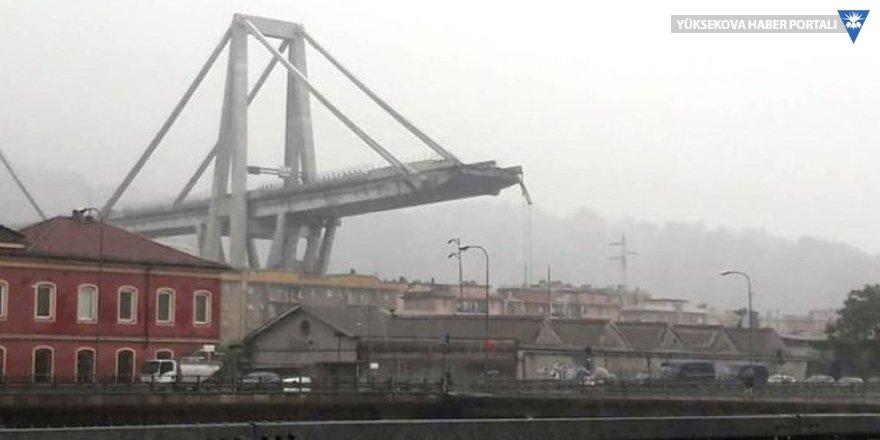 İtalya'da köprü çöktü: En az 20 ölü