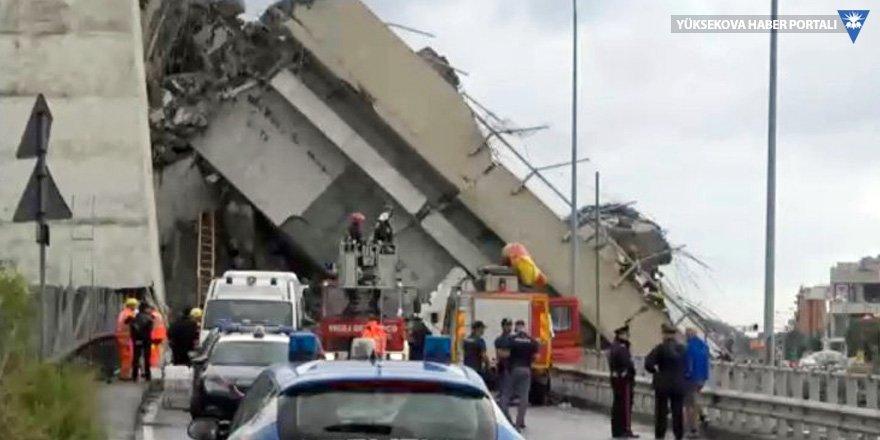 İtalya'daki köprü enkazından 'yardım çığlıkları' geliyor