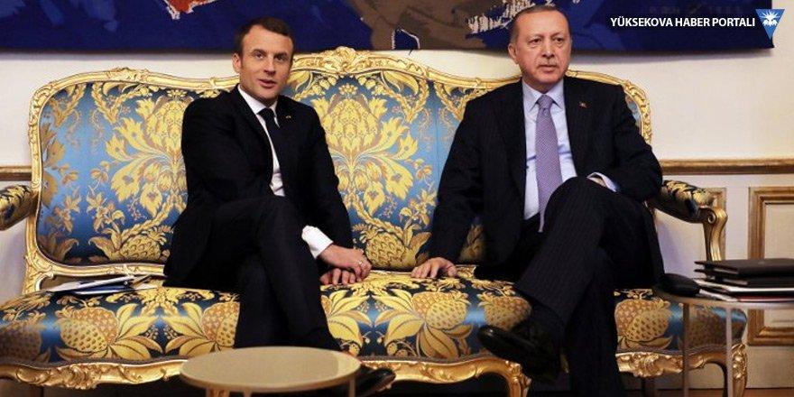 Erdoğan ve Macron ekonomi ve ticareti görüştü