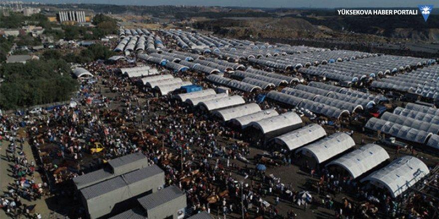 Kurban pazarında büyük yoğunluk