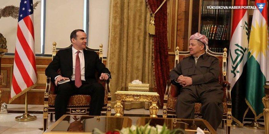 Barzani, McGruck ile yeni hükümeti görüştü