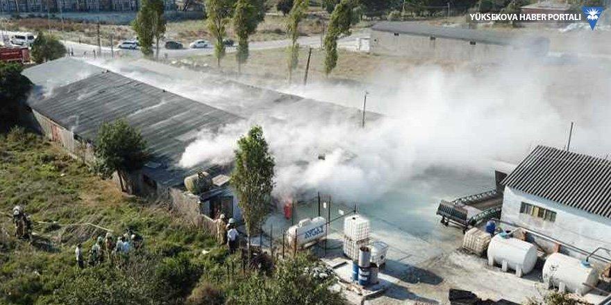 İstanbul'da fabrikada patlama