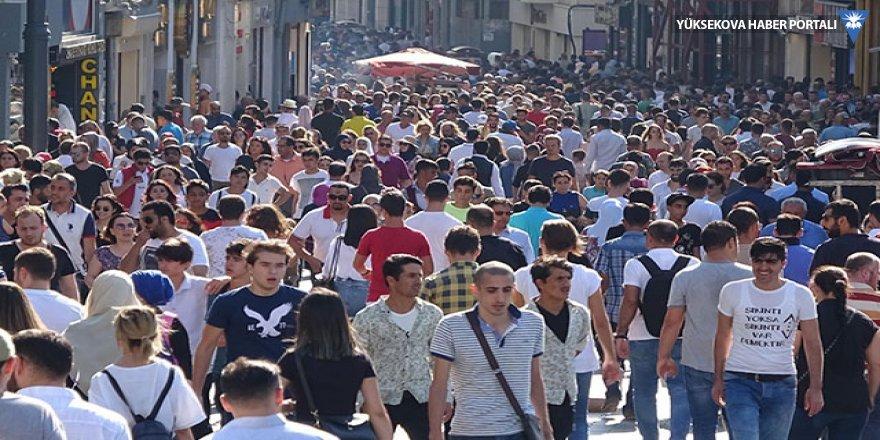 Taksim'de adım atacak yer kalmadı