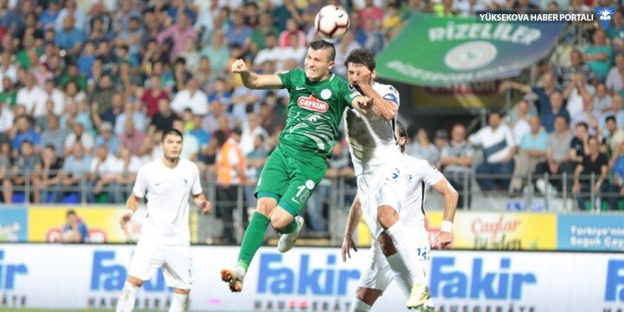 Çaykur Rizespor: 0 - BB Erzurumspor: 0