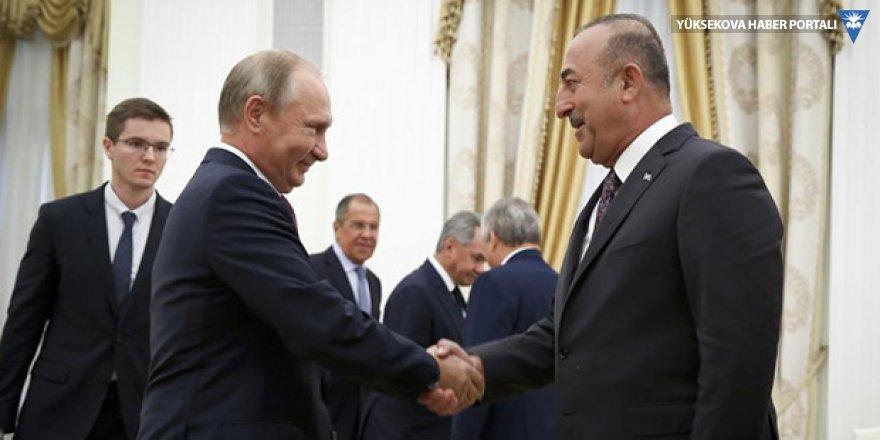 Dışişleri Bakanı Çavuşoğlu, Rusya için ilk kez 'stratejik ortak' ifadesini kullandı