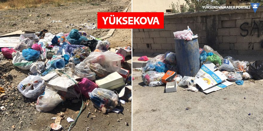 Çöpler bir haftadır toplanmadı, mahalleli tepkili!