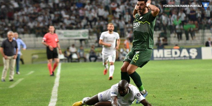 Atiker Konyaspor: 1 - Bursaspor: 1