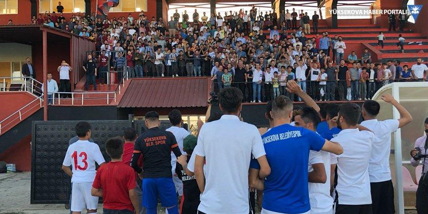 Yüksekova Belediyespor, Muş Menderes Spor'u 2 golle geçti