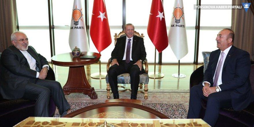 Cumhurbaşkanı Erdoğan, Cevad Zarif'le görüştü