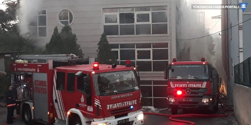 Son 6 ayda 184. fabrika yangını bu sabah çıktı