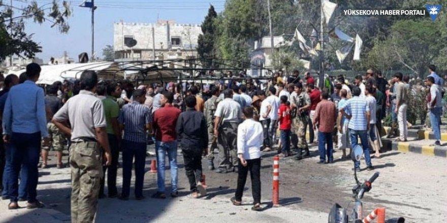 Azez'de bombalı saldırı: 2 ölü, 18 yaralı