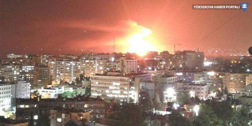 Şam yakınlarında peş peşe patlamalar