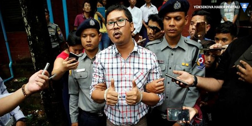 2 Reuters muhabirine 7'şer yıl hapis cezası